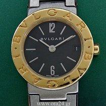 Bulgari Bvlgari Lady 18k Gold Steel Black Dial