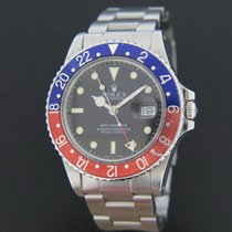 Rolex GMT Master 16750 Pepsi inlay