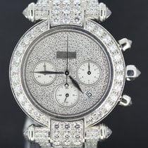 쇼파드 (Chopard) Imperiale White Gold Chrono 40MM, Full Diamond...