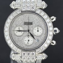 Chopard Imperiale White Gold Chrono 40MM, Full Diamond...
