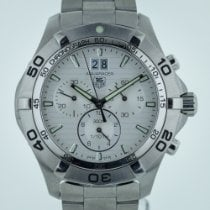 TAG Heuer Aquaracer, Mens, Quartz, Stainless Steel, CAF101F