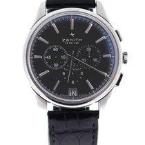 Zenith Captain El Primero Chronograph 42mm black dial