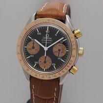 Omega Speedmaster Chronograph Vintage Stahl-Gold Bi-Colour