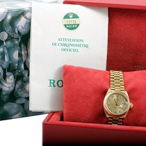 Rolex Ladies 18K Yellow Gold President -Factory Champagne...