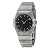 Omega Constellation  Stainless Steel Mens watch 123.10.35.60.0...