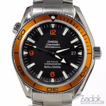 Omega Planet Ocean Orange Automatic Professional Diver Watch...