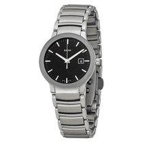 Rado Ladies R30928153 Centrix Black Dial Watch