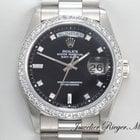 Rolex DAYDATE WEISSGOLD 750 DIAMANTEN AUTOMATIK 36 mm