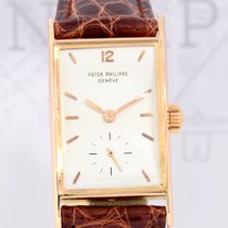 Patek Philippe 18K Roségold Rectangular Pink Gold very rar...