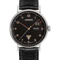 Junkers Eisvogel F13 Swiss Auto Sellita Watch 40mm S/steel...