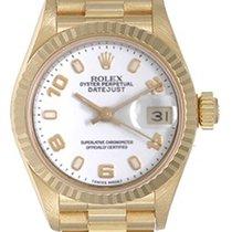 Rolex Ladies Rolex President 18k Gold Watch 79178