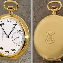 Patek Philippe 18K Gold Guilloché hunter case pocket watch,...