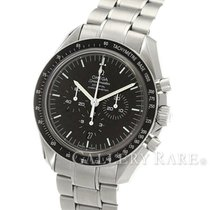오메가 (Omega) Speedmaster Moonwatch Enamel Dial Co-Axial Steel...