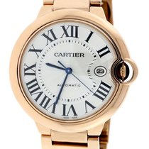 Cartier Ballon Bleu 42mm 18k Rosegold Automatic Men's...