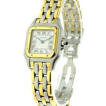 Cartier 1120 2-Tone Panther - Small Size - 3 Row Gold Bracelet