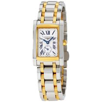 Longines Dolce Vita White Dial Stainless Steel Gold-tone...