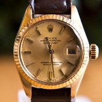 勞力士 (Rolex) Datejust - 18 kt Yellow Gold - 6917 - Women -...