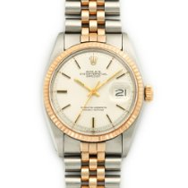 Rolex Two-Tone Rose Gold Datejust Watch Ref. 1601