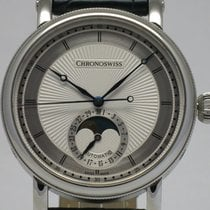 "Chronoswiss ""Sirius Moon Phase"" Steel. New, onworn"