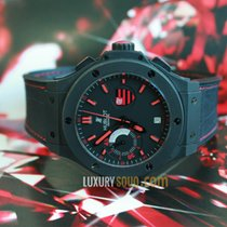 Hublot Flamengo Bang Black Rubber Gummy Alligator Mens Watch