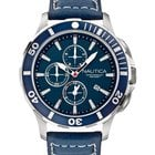 Nautica BFD 101 Dive Style A20110G Chrono 10 ATM 44 mm