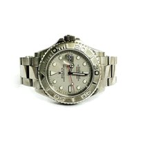롤렉스 (Rolex) Rolex Yatch-Master platinum dial and bezel
