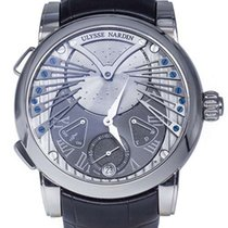 Ulysse Nardin Classic Stranger 18K White Gold Men's Watch