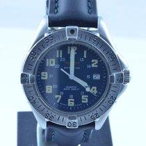 Breitling Colt Quartz Herren Uhr 37mm Stahl/stahl Rar Klassike...