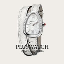 Bulgari Serpenti 27mm Quartz Mother Of Pearl Dial