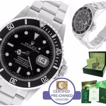 Rolex Submariner Date 16610 T D Stainless Steel Black 40mm Dive