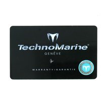 Technomarine Blank Watch Warranty Certificate Watch Card