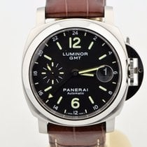 Panerai Men's  Contemporary Luminor Gmt Automatic Stainles...