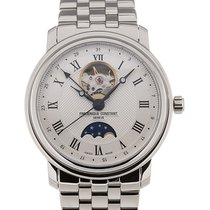 Frederique Constant Classics 40 Moonphase Steel Strap