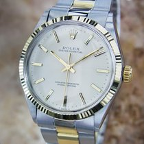 Rolex Oyster Perpetual 1967 Solid Gold Stainless St 1005...