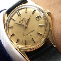 Omega Wonderful Omega Constellation De Lux Solid Gold Automatic