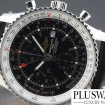 Breitling Navitimer world   BLACK DIAL A2432212 B726