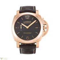 Panerai PAM00393 Luminor Marina Automatic Gold Men's Watch