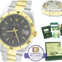 Rolex DateJust 116263 Turn-O-Graph 36mm Thunderbird Two-Tone Gold