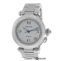 Cartier Midsize Unisex 35MM Cartier Pasha 2324 Stainless Steel