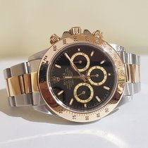 勞力士 (Rolex) Daytona black steel / gold 16523  - warranty until...