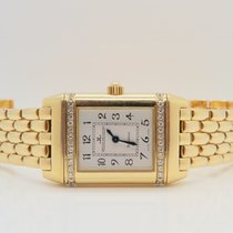 Jaeger-LeCoultre Reverso 18k Yellow Gold Factory Diamonds Ref....