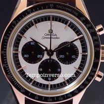 Omega Speedmaster Moonwatch chrono Numbered  Sedna gold full set