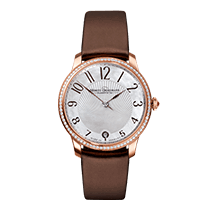 Moritz Grossmann TEFNUT Lady, rose gold with brilliant-cut...