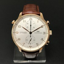 IWC Portugieser Chronograph Rattrapante Rosegold ( Open Back )