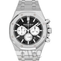 Audemars Piguet Royal Oak ChronoGraph Black Steel 41mm -...