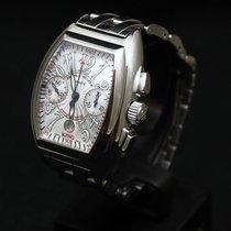 Franck Muller King Conquistador - 8005 K CC Silver - Men -...