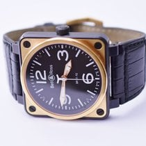 Bell & Ross Aviation BR01-92 Carbon Case & 18K Gold...