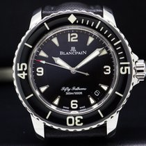 Blancpain 5015-1130-52 Fifty Fathoms Automatic SS / Kevlar...
