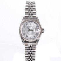ロレックス (Rolex) ladies 69174 Datejust - Silver Roman Numeral Dial