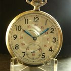 H.Moser & Cie. Vintage WWII Obserser Pocket Watch